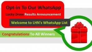 Lucky Draw Results - LHN WhatsApp Opt-in Campaign